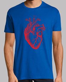 Vintage Heart -Red