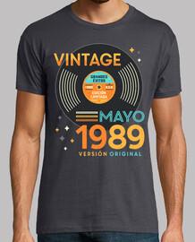 VINTAGE Mayo 1989