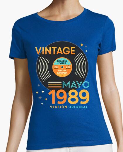 Camiseta VINTAGE Mayo 1989