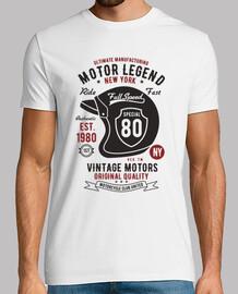 Vintage motors helmet