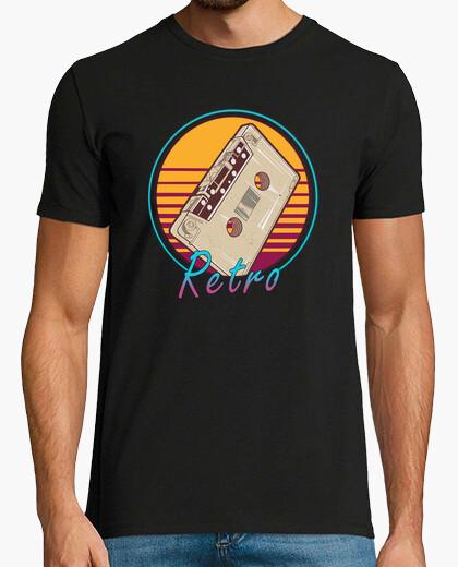 Camiseta vintage retro 80s cinta de...