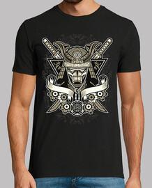 vintage retro samurai samurai t-shirt