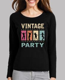 vintage rock-party-rock-and- retro rockabilly t-shirt