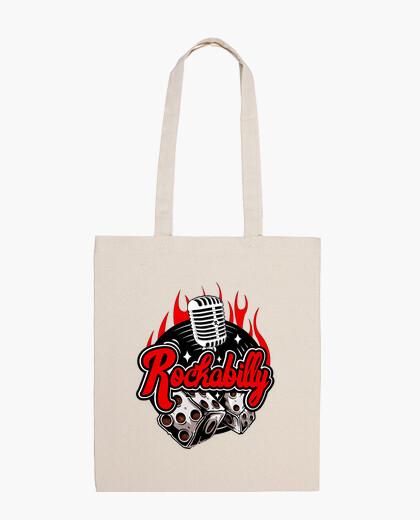Sac vintage rockabilly retro rock and roll musique USA