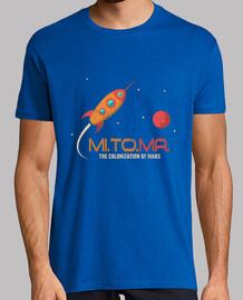 vintage rocket - mission to mars