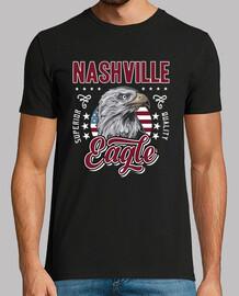 vintage t-shirt nashville tennessee americana aquila