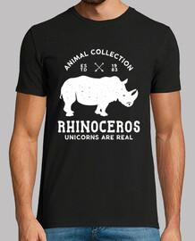 vintage t-shirt silhouette rhino 1983