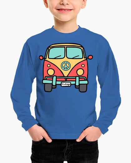 Vintage van children's clothes