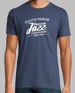 vintager retro jazzt-shirt