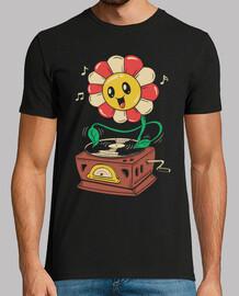 vinyl-blumenhemd herren