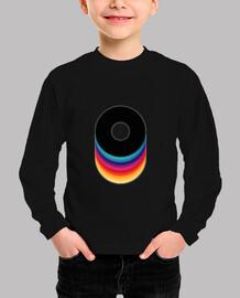 vinyl color // kid / pink tshirt