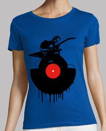 Vinyl guitarist