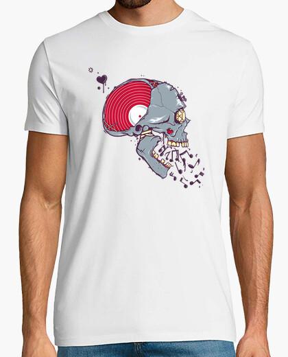 Tee-shirt Vinyl Skull