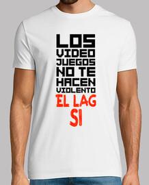 Violencia Gamer - Blanco
