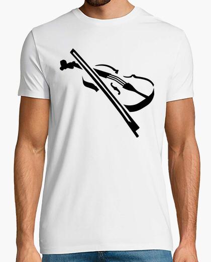 Camiseta violín violín