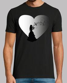 Violinista corazon