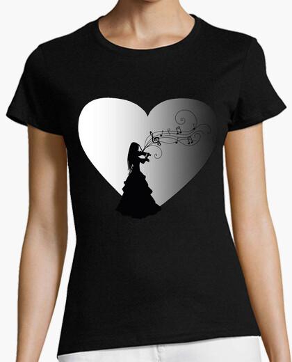 Camiseta Violinista corazon