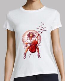 Violoncelo Girl T-Shirt 2