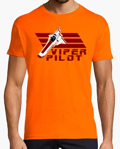 Camiseta viper pilot galactica so say we all friki cine series TV