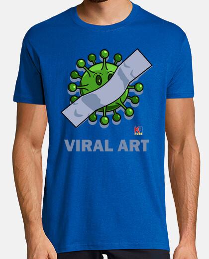 viral coronavirus art