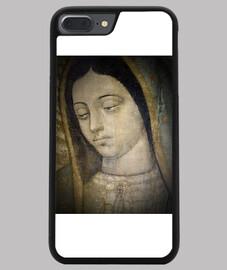Virgen de Guadalupe - Cabeza. Funda iPhone 7/8 PLUS