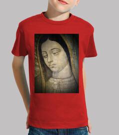 Virgen de Guadalupe - Cabeza. Niño, manga corta