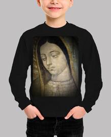 Virgen de Guadalupe - Cabeza. Niño, manga larga