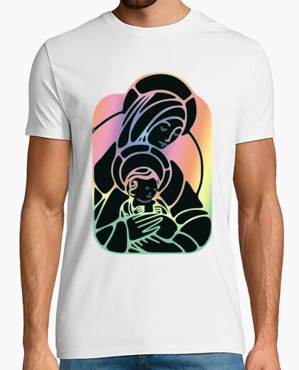 Camiseta Virgen Maria Color