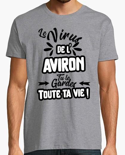 Camiseta virus de bádminton regalo