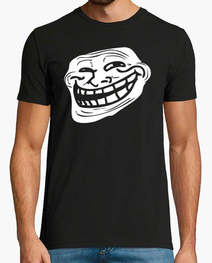 Tee-shirt visage de troll