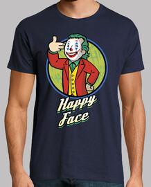 visage heureux garçon comédien