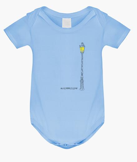Ropa infantil Visc a - Visca Barcelona (fanal català) - Body nadó amb pigments ecològics