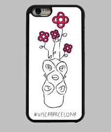 Visc a - Visca Barcelona (rosa bcn) - Funda iPhone 6