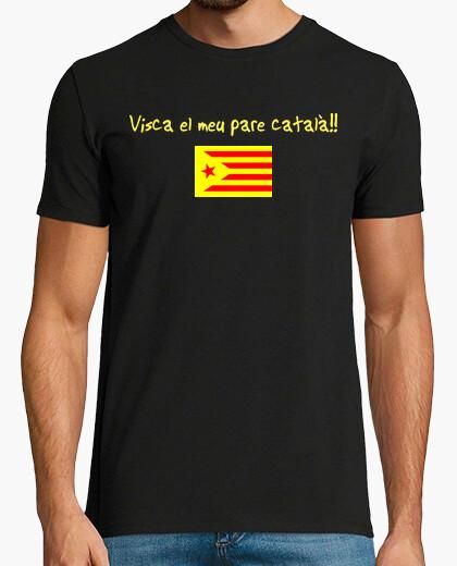 Camiseta VISCA EL MEU PARE CATALÁ