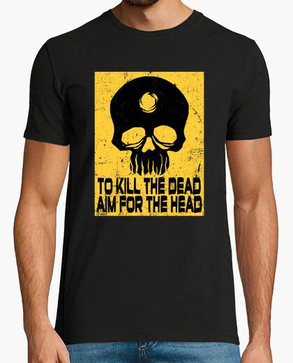 Tee-shirt viser le t-shirt de tête