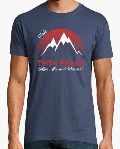 T-shirt Visit twin peaks