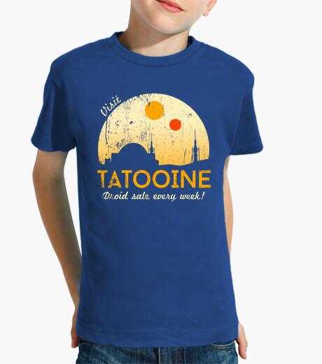 Vêtements enfant visite tatooine