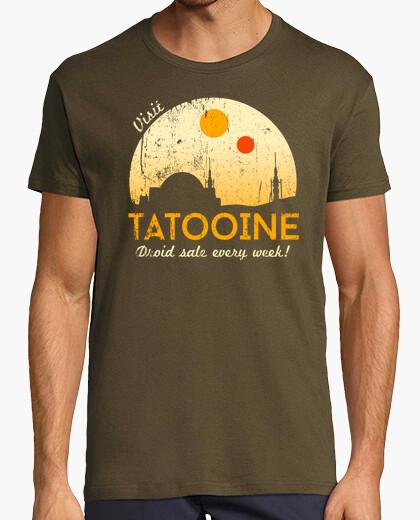 Tee-shirt Visite Tatooine
