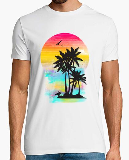 Camiseta vista de verano