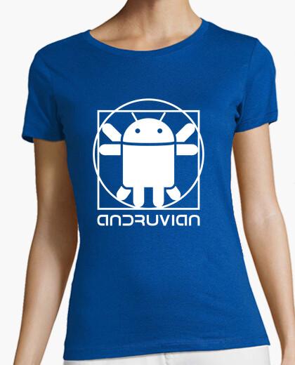 Camiseta Vitruvian Droid