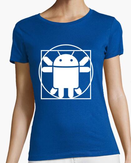 Camiseta Vitruvian Droid (only)