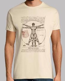 vitruvian eren t-shirt