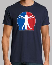 Vitruvian Man - NBA Logo