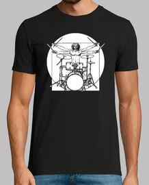 Vitruvian Man Drummer