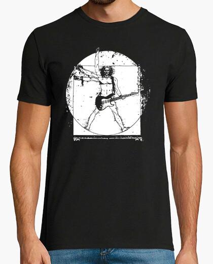 Vitruvian Man Guitarist t-shirt