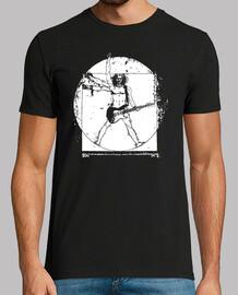 Vitruvian Man Guitarist