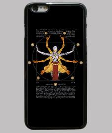 vitruvian omnic iphone 6 plus negro