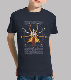 Vitruvian Omnic kids navy