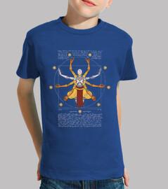 Vitruvian Omnic kids royal blue