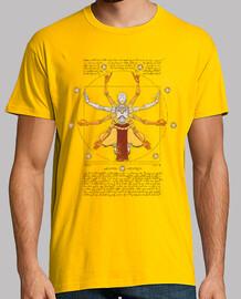 vitruvian omnic mens yellow